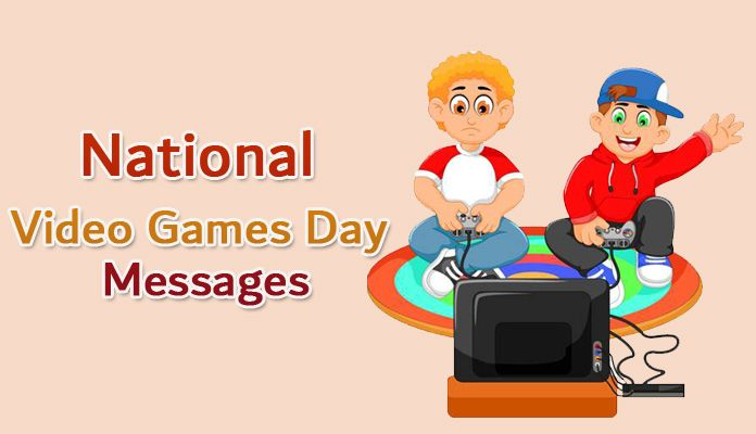 National Video Games Day September 12, 2018 – Greetings Text Messages
