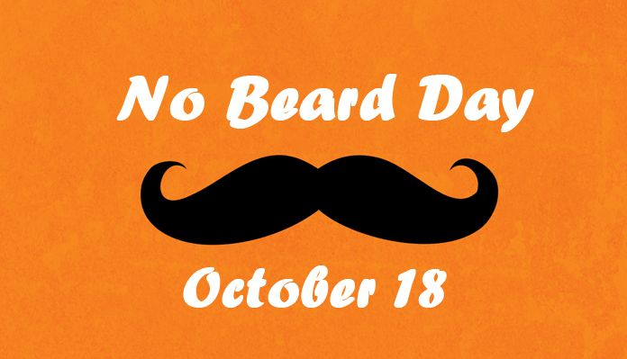 October 18 National No Beard Day Messages - Short Quotes