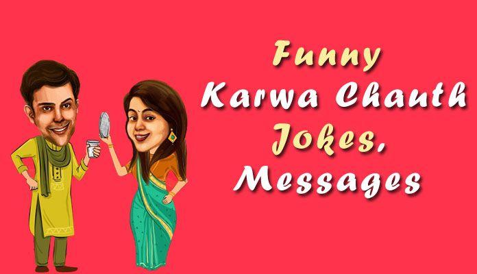 Funny Karwa Chauth Jokes - Funny Karva Chauth Status Messages, Shayari