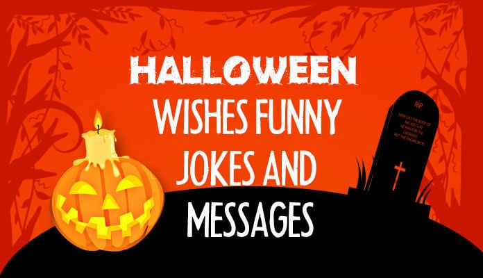 Funny Halloween Jokes - Witty Halloween Messages - Funny Sayings images