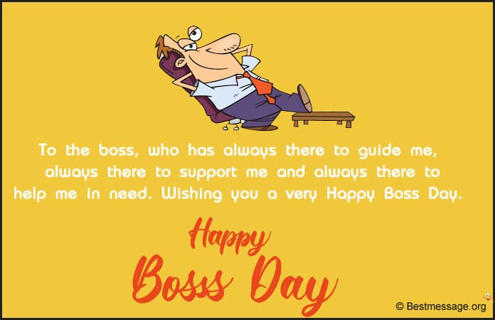 Happy Boss Day Messages greetings Images