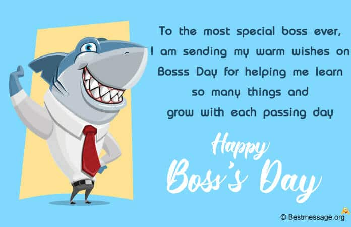 Happy Boss's Day 2021 Wishes Image, Photos