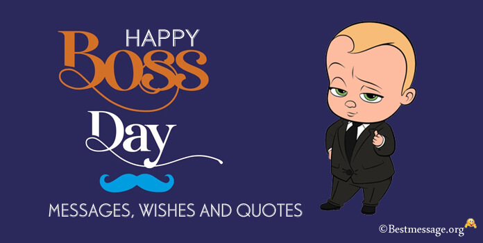 Happy Boss's Day Messages, Boss Day Greetings Wishes