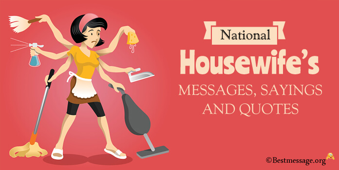 Happy Housewife's Day Greetings - Housewives Day Messages
