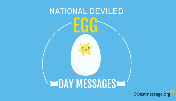 November 2 National Deviled Egg Day Messages for Loved Ones