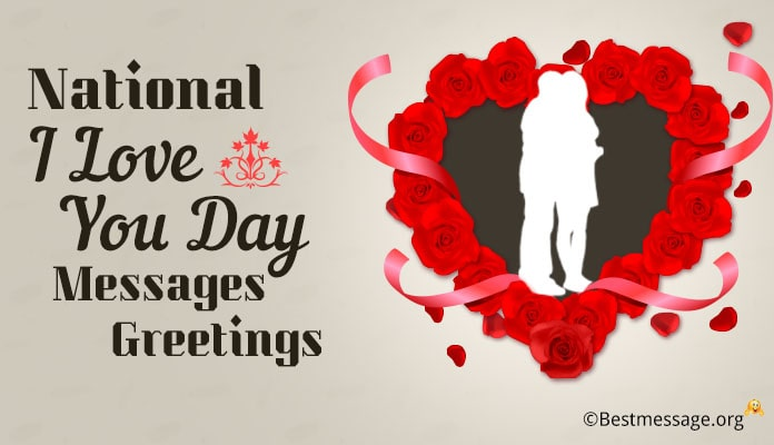 National I Love You Day 28 October, I Love You Day Messages Wishes Greetings Images