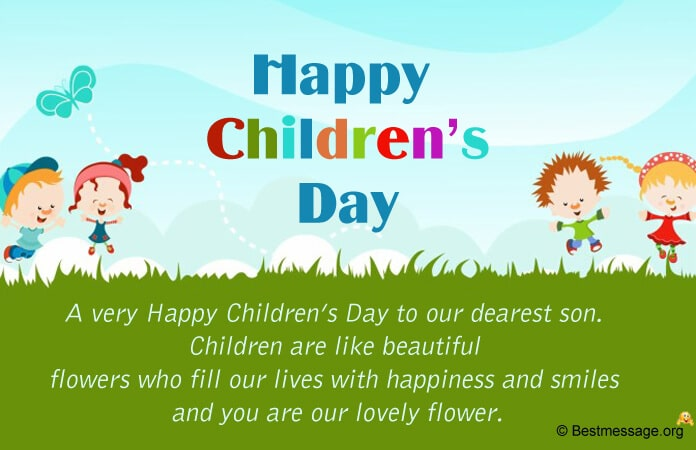 Sweet Children's Day Wishes Messages 2021