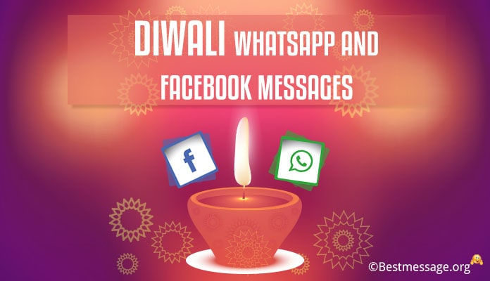 Short Deepavali status wishes, Happy Diwali WhatsApp messages and status in Hindi, English to share on WhatsApp, Facebook with family, friends and relatives.