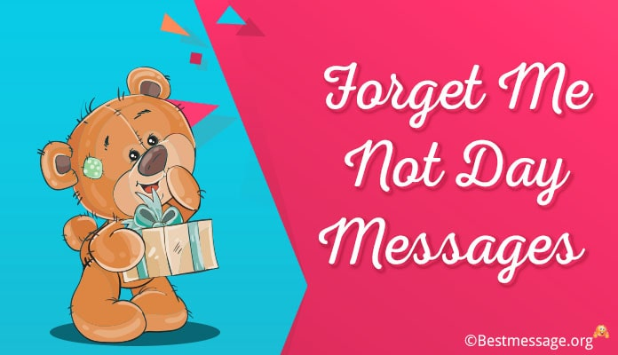 Forget Me Not Day Messages - Forget Me Not Wishes 10 November