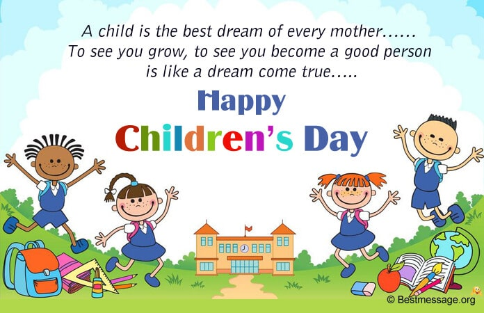 Children's Day Wishes Images, Children's Day Quotes