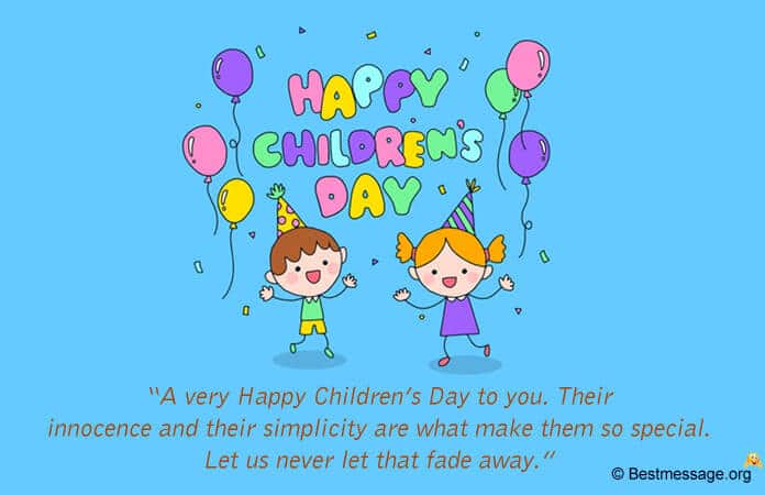 happy Children's Day 2021 Messages quotes Images