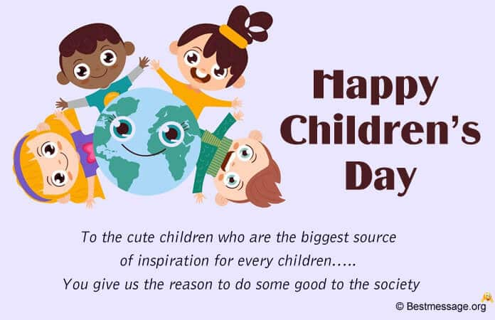 Children's Day Wishes Messages Image