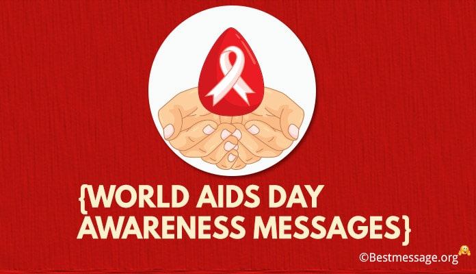 Happy World aids day picture messages, AIDS day Slogans images