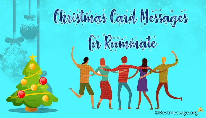 Merry christmas message for roommate - christmas Wishes roommate friends