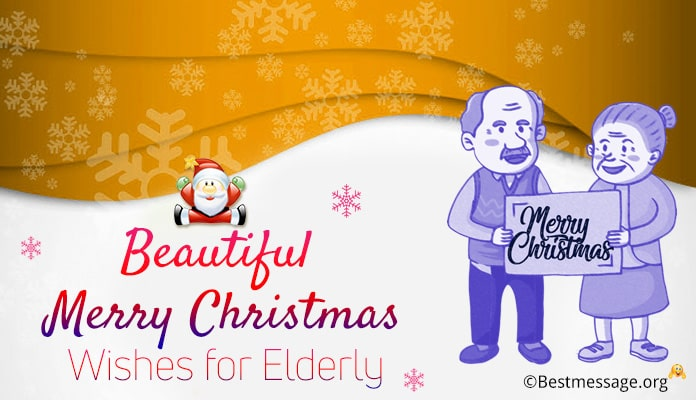 Christmas Wishes and Short Christmas Messages Image for elderly