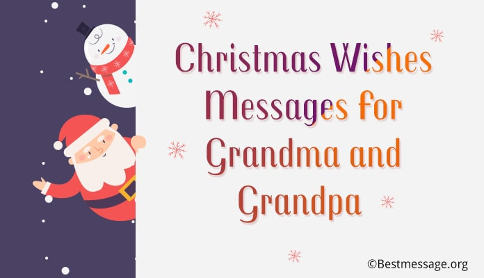 Christmas Wishes for Grandparents, christmas card messages grandma, grandpa