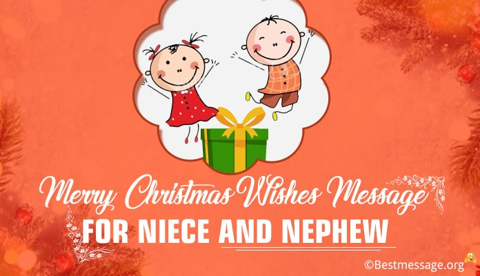 christmas wishes for nieces and nephews - christmas greetings messages Image