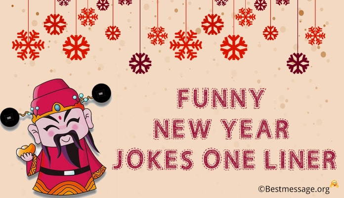 Funny New Year Jokes, Funny New Year Messages, Wishes with Image
