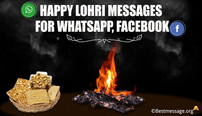 Happy Lohri Whatsapp Status and Facebook Messages Image