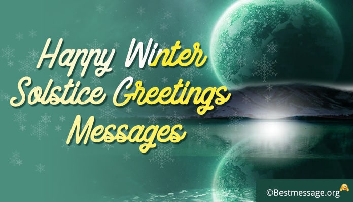 Happy Winter Solstice Greetings Messages and Quotes