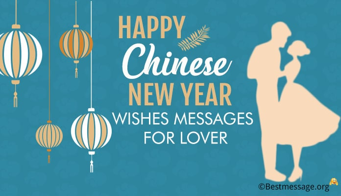 Chinese New Year Wishes for Lover - Greetings Messages Image