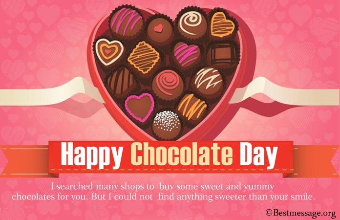Chocolate Day Messages, Chocolate Day Quotes and Wishes