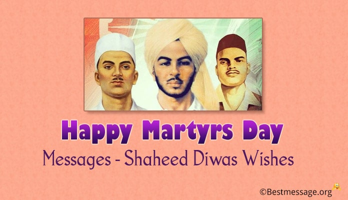 Happy Martyrs Day Messages Image - Shaheed Diwas Wishes
