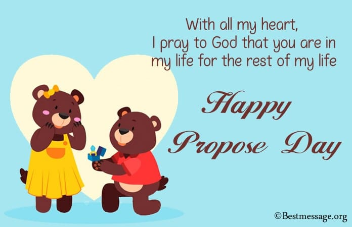 Happy Propose Day Wishes 2021, Propose Day Messages images