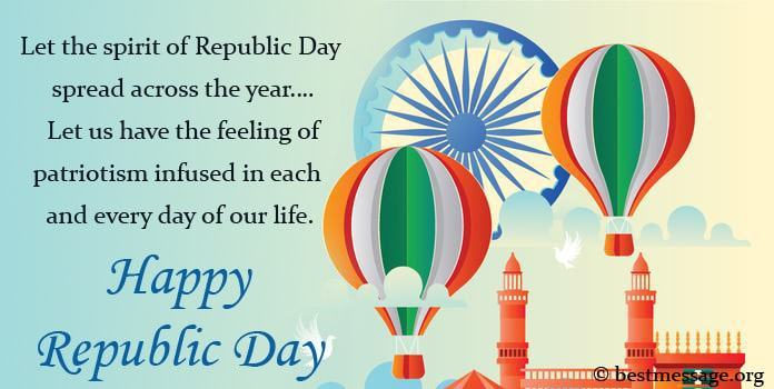 Happy Republic Day Wishes Messages Images