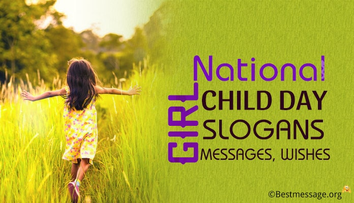 National Girl Child Day Slogans, Messages, Wishes Images