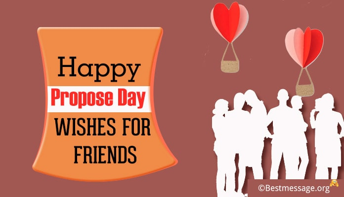 Happy Propose Day Wishes for Friends - Messages, Greetings Image