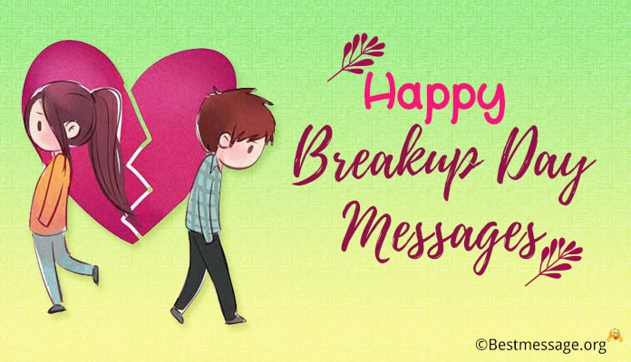 Happy breakup day messages - breakup day images images, pictures, Photo
