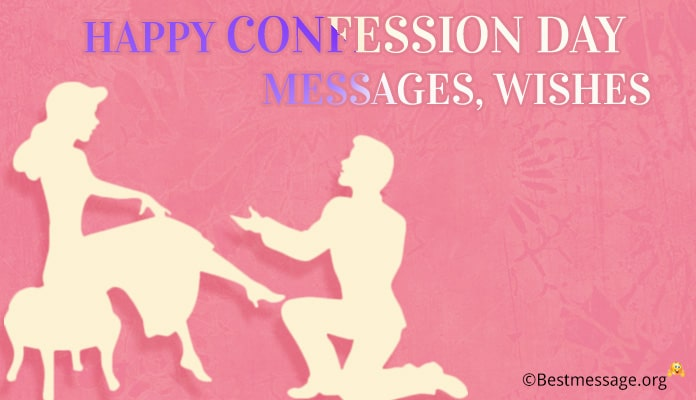 Happy confession day messages - confession day images wishes