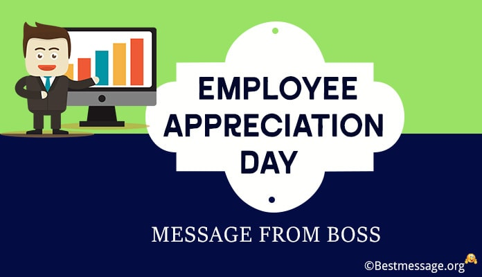 Employee Appreciation Day Message from Boss