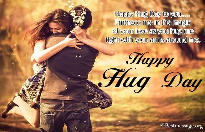 Hug Day Messages, Hug Day Pictures, Images, Photos
