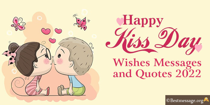 13th Feb Happy Kiss Day Wishes, Messages, Greetings Images