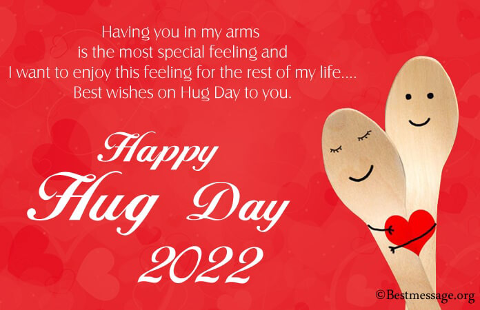 Hug Day Messages 2021, Romantic Hug Day Wishes