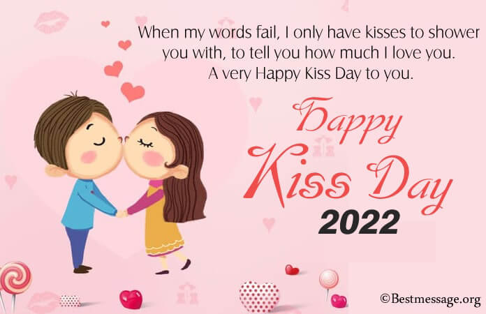 Happy Kiss Day Messages, Kiss Day Pictures, Images, Photos
