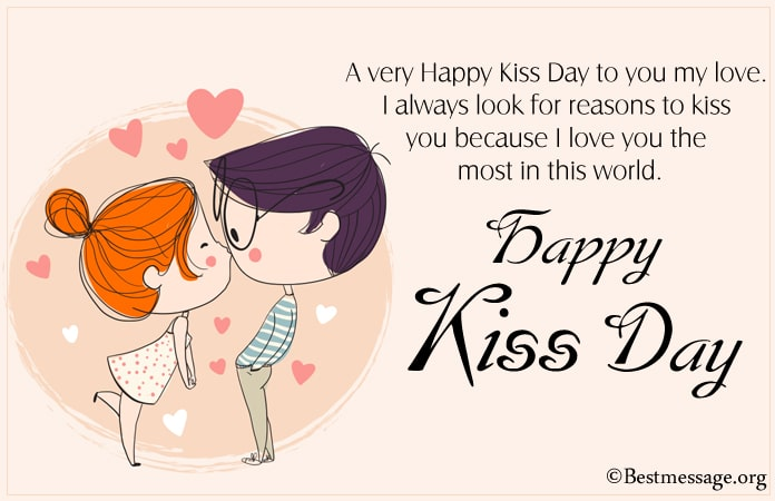 Kiss Day Messages 2021, Romantic Kiss Day Wishes