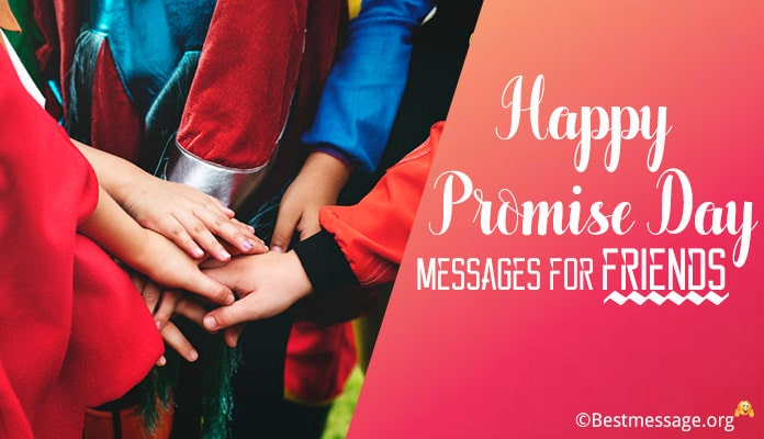 Promise Day Messages for Friends - Happy Promise Day Wishes Image, pics