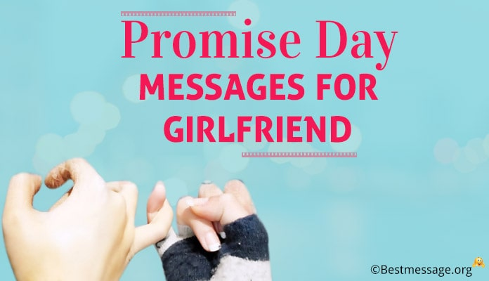 Happy Promise Day Messages Wishes for Girlfriend