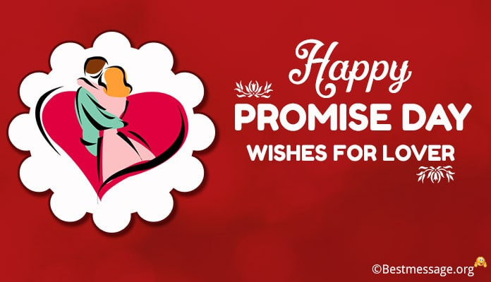 Promise Day Wishes for Lover, Greetings Messages Image