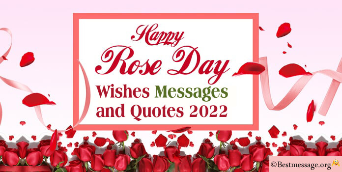 Happy Rose Day Messages, 2021 Rose Day Wishes Images, Photos