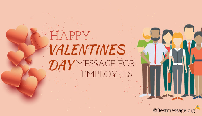 Valentine's Day Messages for Employees