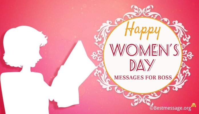 Women's Day Messages for Boss, Best Wishes with image