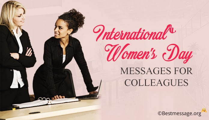Women's Day Messages for Colleagues – women's day wishes images