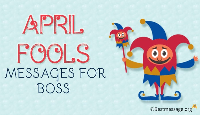 Professional April Fools Messages for Boss - Pranks Jokes Image