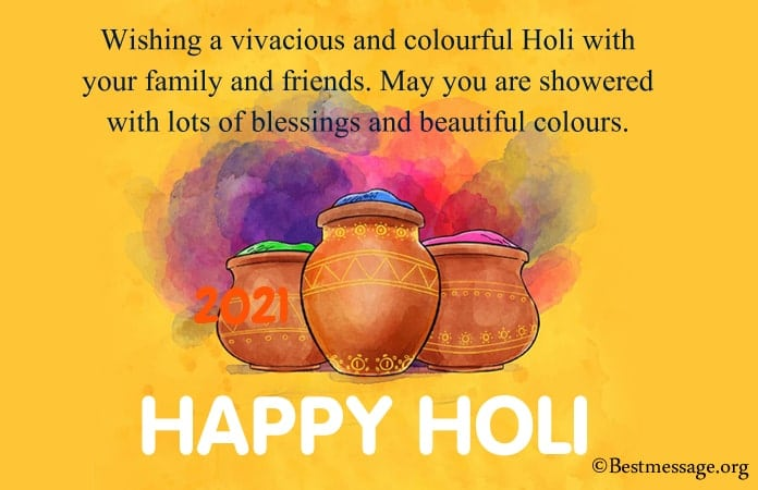 Happy Holi Wishes Messages Holi Images, picture 2021