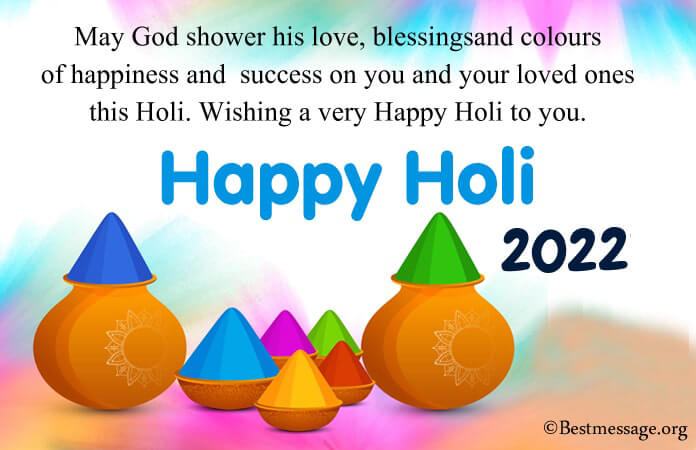 Happy Holi 2021 Messages, Holi Wishes images photo
