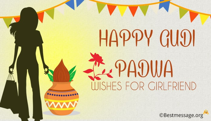 Gudi Padwa Wishes Messages for Girlfriend